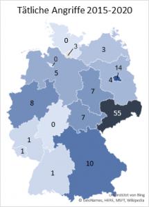 Sachsen; FFM IV; Tätliche Angriffe auf Journalisten