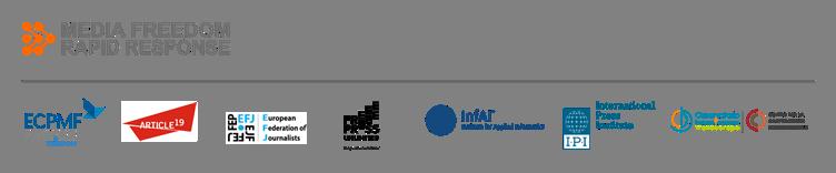Logo of the Media Freedom Rapid Response