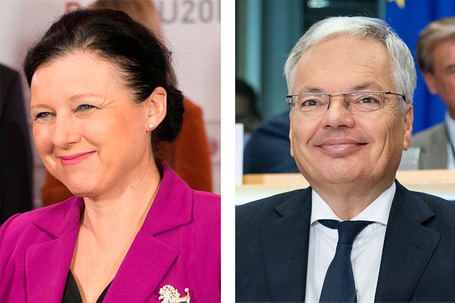 Vice-President Jourová and Commissioner Reynders