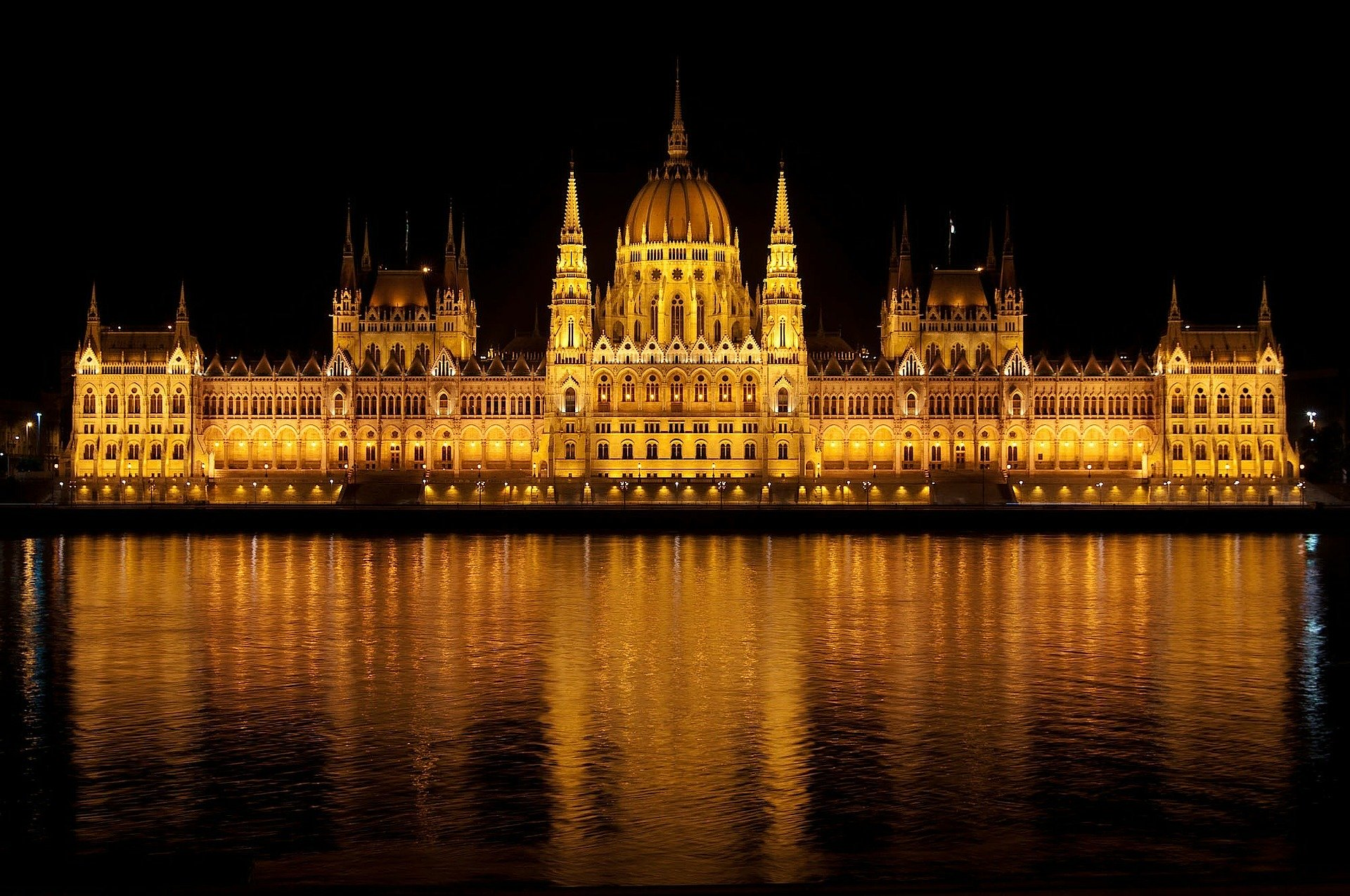 Hungary; Hungarian Parliament; Danube river; Democracy in Hungary