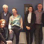 The delegation with Tine Johansen, President of DJ in Copenhagen. Photo: Renata Rat/ECPMF