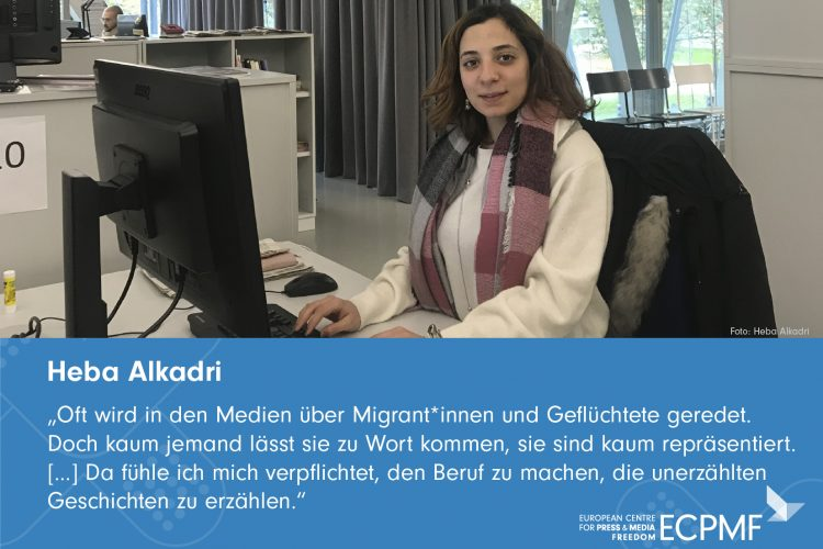 Heba Alkadri; Helpdesk; Support; Praktikum; MirgantInnen in medien