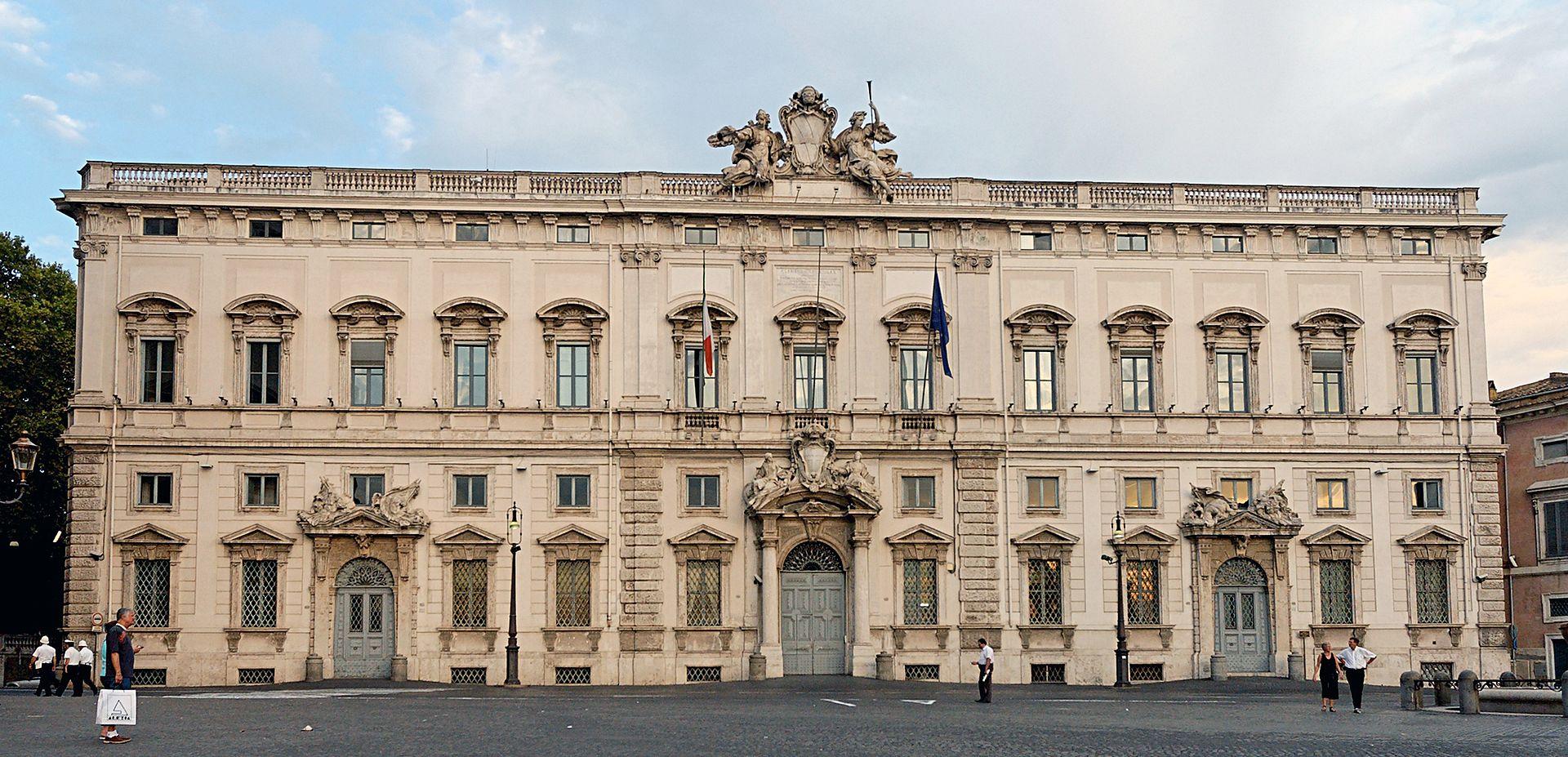 Public Domainview terms File:Palazzo della Consulta Roma 2006.jpg Created: 1 January 2006 italy