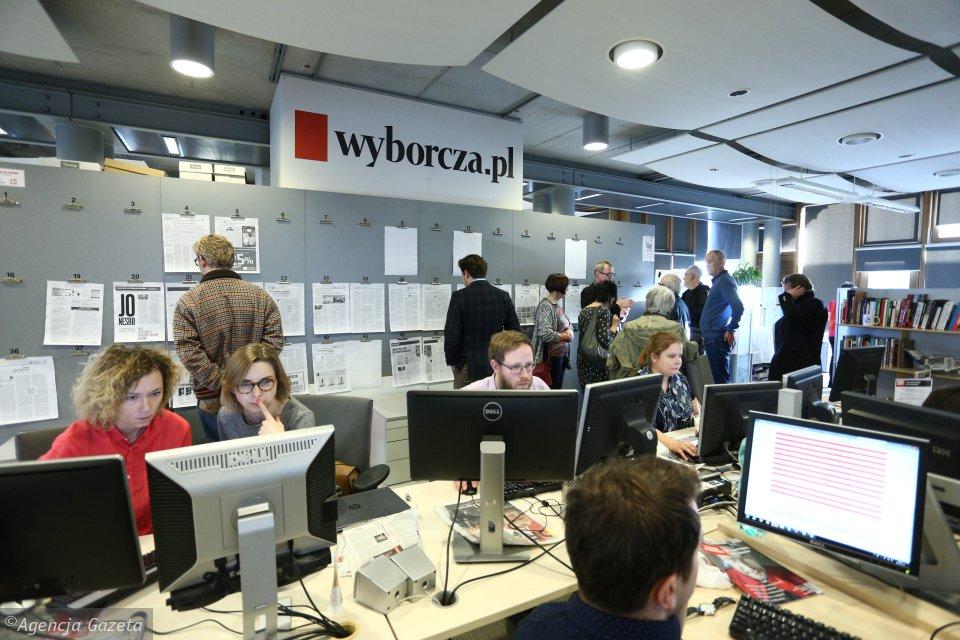 z19967811V,Dziennikarze-podczas-pracy---newsroom--Wyborcza-pl
