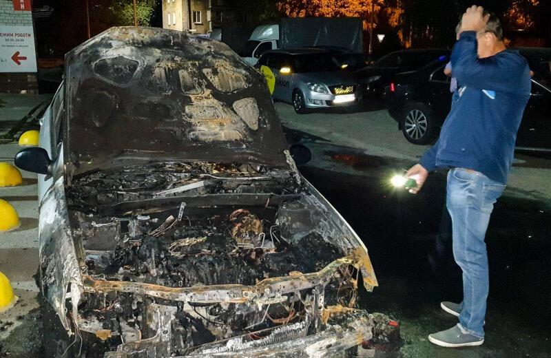 Radio liberty arson attack ukraine
