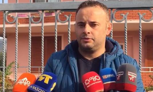 Albanian journalist Elidon Ndreka