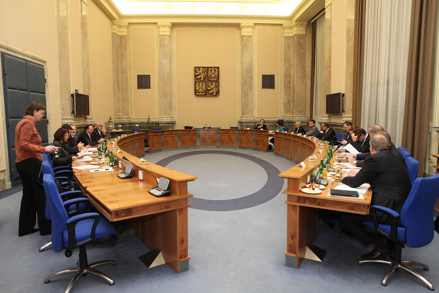 Czech_cabinet_room