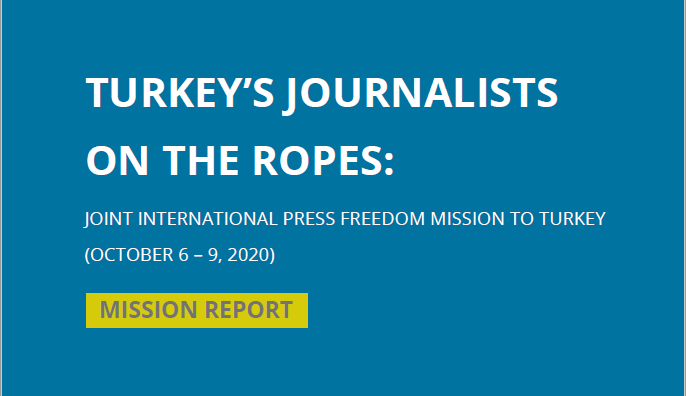 Fact finding mission Press freedom Turkey 2020