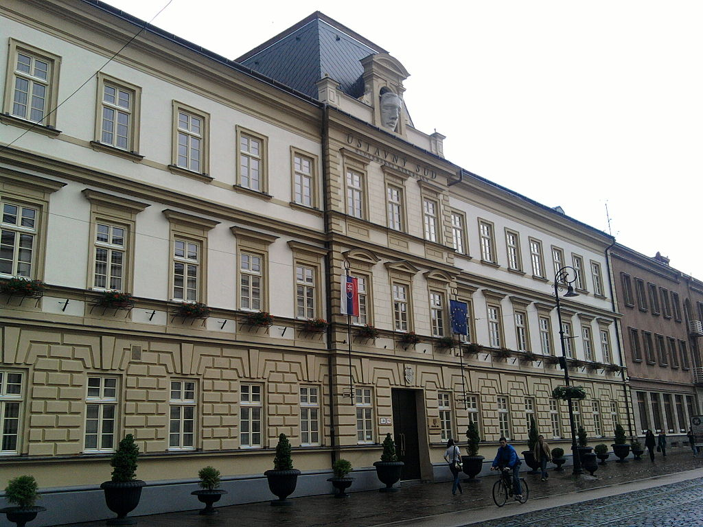 Building of the Constitutional Court of Slovakia in Košice
